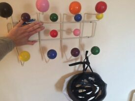 Retro funky coat hooks 1950's Eames inspired