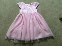 Beautiful Layered Pink Party Dress.