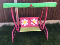 Childrens double swing seat
