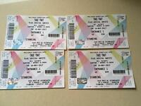 4 Take That Tickets