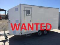 WANTED - DECONTAMINATION TRAILER / SHOWER TRAILER / ASBESTOS TRAILER - ANY CONDITION