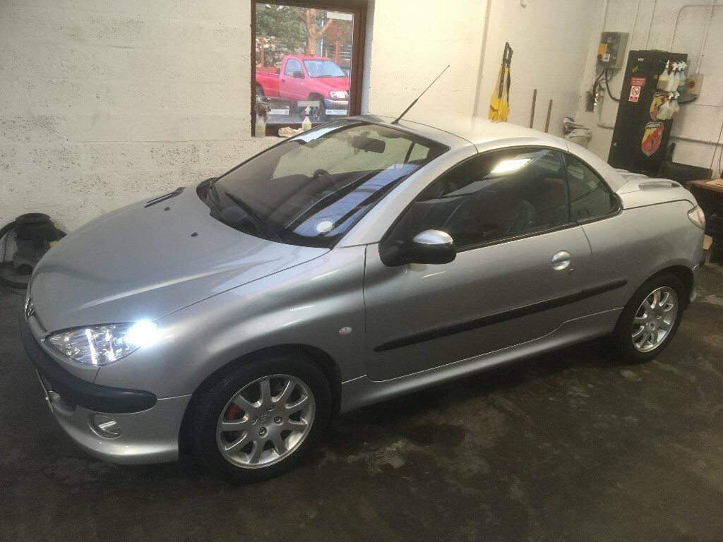 PEUGEOT 206 CONVERTIBLE LEATHER
