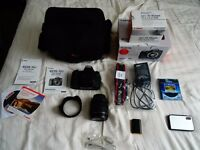 Canon 70D + Canon 15-85mm IS USM lens + Kit (Originally worth £1579)