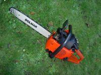 """Dolmar Sachs 100 14"""" Petrol Chain Saw."""