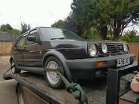 Vw golf mk2 gti original car