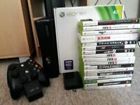 Xbox 360 plus some games - Controllers and few games sold! - No HDMI cable