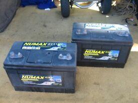 12 Volt Leisure batteries