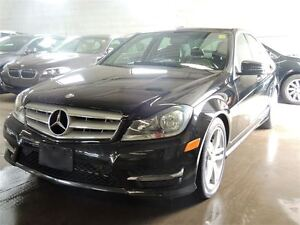 2013 Mercedes-Benz C-Class C 300 4MATIC, SUNROOF, LEATHER AND HE