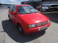 VW POLO CL 1.4 choice of 2, NEW TEST, private reg CHEAP- low insurance, runs well only £395