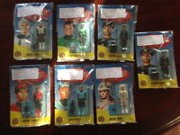 7 Captain Scarlet Action Figures for sale - unopened - Collectables