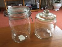 One Kilner Preserve Jar and One Ikea Vardagen Jar in Excellent Condition - Only £1 each!