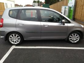 Honda Jazz 2006 silver automatic very good condition