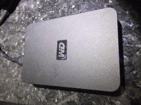 "WD Elements SE Portable 1 TB Portable HDD 2.5"" - WDBPCK0010BBK - USB 3.0"