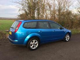 Ford Focus 1.8 petrol zetec climate estate