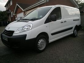 PEUGEOT EXPERT 1.6HDI 1200 L2 H1 LWB 2YRS OLD LOW MILEAGE - LIKE NEW - PRIVATE SELLER