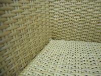 Holloways all weather outdoor beige wicker garden furniture