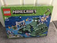 Lego Minecraft Ocean Monument Brand New Unopened