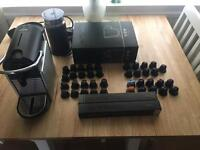 Nespresso Pixie Magimix and Aeroccino3, over 50 coffee pods, genuine cups, coffee machine