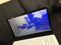 "SONY VAIO SVE1511P1EW 15.5"" HDMI 4GB Core i5 2nd Gen 750GB webcam (Ace laptop)."