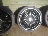 "Bmw alloys 19"" black "" M "" style 5x120(8j)"