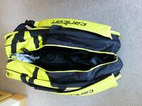 Carlton 9 Badminton Racket Bag see discription for details
