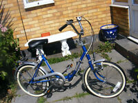 LADIES SHOPPING BIKE IN GREAT WORKING ORDER with fitted lights