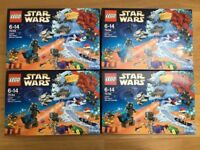 4 x Lego Star Wars advent calenders 75184