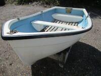 7ft9 grp stem dinghy