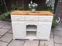 Pine Painted Sideboard Cabinet