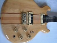 Kay Thru' neck double-cut electric guitar - High end model - '80s