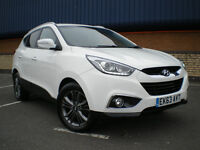 *** Hyundai IX35 1.7 CRDi SE SUV 5dr **IMMACULATE ** LOW MILEAGE **ONLY COVERED 35K** BARGAIN ***