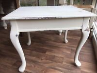Vintage Coffee Side Shabby Chic Table