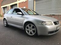 Audi S3 2000 1.8 Quattro 3 door FSH, HUGE SPEC, RECARO LEATHER, BARGAIN