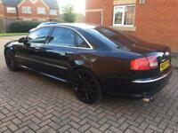 Audi A8 V8 LWB Quattro SPORTS EXHAUST LUXURY FSH BARGAIN