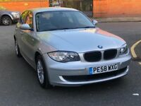 MUST SEE PRICE REDUCED!! BMW 1 SERIES HATCHBACK 2008 (58) 116i ES 5 DOOR HPI CLEAR