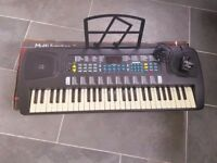 Electric Keyboard with stand and music sheet holder