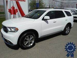 2015 Dodge Durango Limited-V6-4WD-Leather-Sunroof-7 Passenger