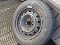 citroen xsara picasso spare wheel with good brand tyre 185/65/15