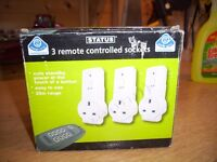 3-REMOTE CONTROLLED SOCKETS