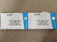 2x The Big Feastival Weekend Camping Tickets