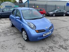 2003 03 NISSAN MICRA 1.2 AUTOMATIC SE 27,000 MILES ONLY BARGAIN!!!!!