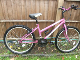 Girls/Ladies Bike 24 inch Wheels 14 inch Frame 18 Gears
