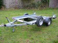 SMART / SMALL CAR TRANSPORTER TRAILER (WOODFORD)
