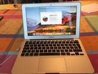 MacBook Air, 120Gb SSD, Core i5 CPU 4Gb Ram.