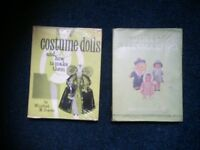 Two books on Doll dressmaking