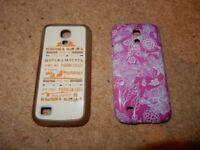 2 x Samsung S4 Mini Cases / Covers