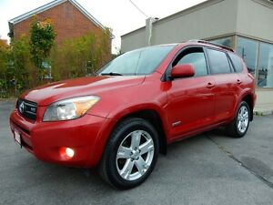 2007 Toyota RAV4 V6 4WD | SPORT | P.SUNROOF | NO ACCIDENTS Kitchener / Waterloo Kitchener Area image 3
