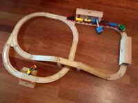 Original Wooden Brio Train Set Plus Extras