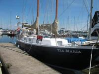 BLUE WATER TRADITIONAL SCHOONER  $ 25,000.00  Must Sale