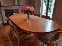 Dining extension Table – solid MAPLE